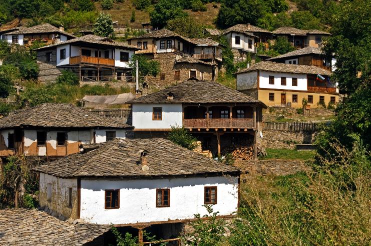 Болгария италия Итаки домик в деревне