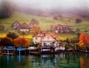 Шале — традиционные швейцарские дома, многие из них сдаются в аренду