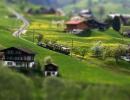 Железная дорога на Юнгфрау пролегает вдоль живописных деревень