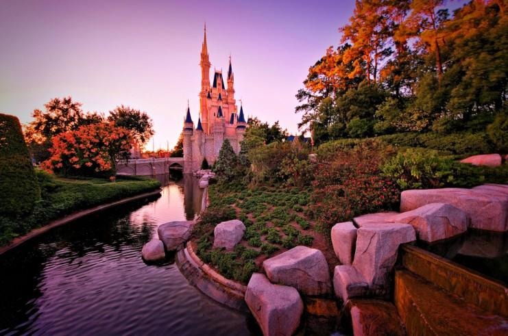 Фейерверк в парке Walt Disney World